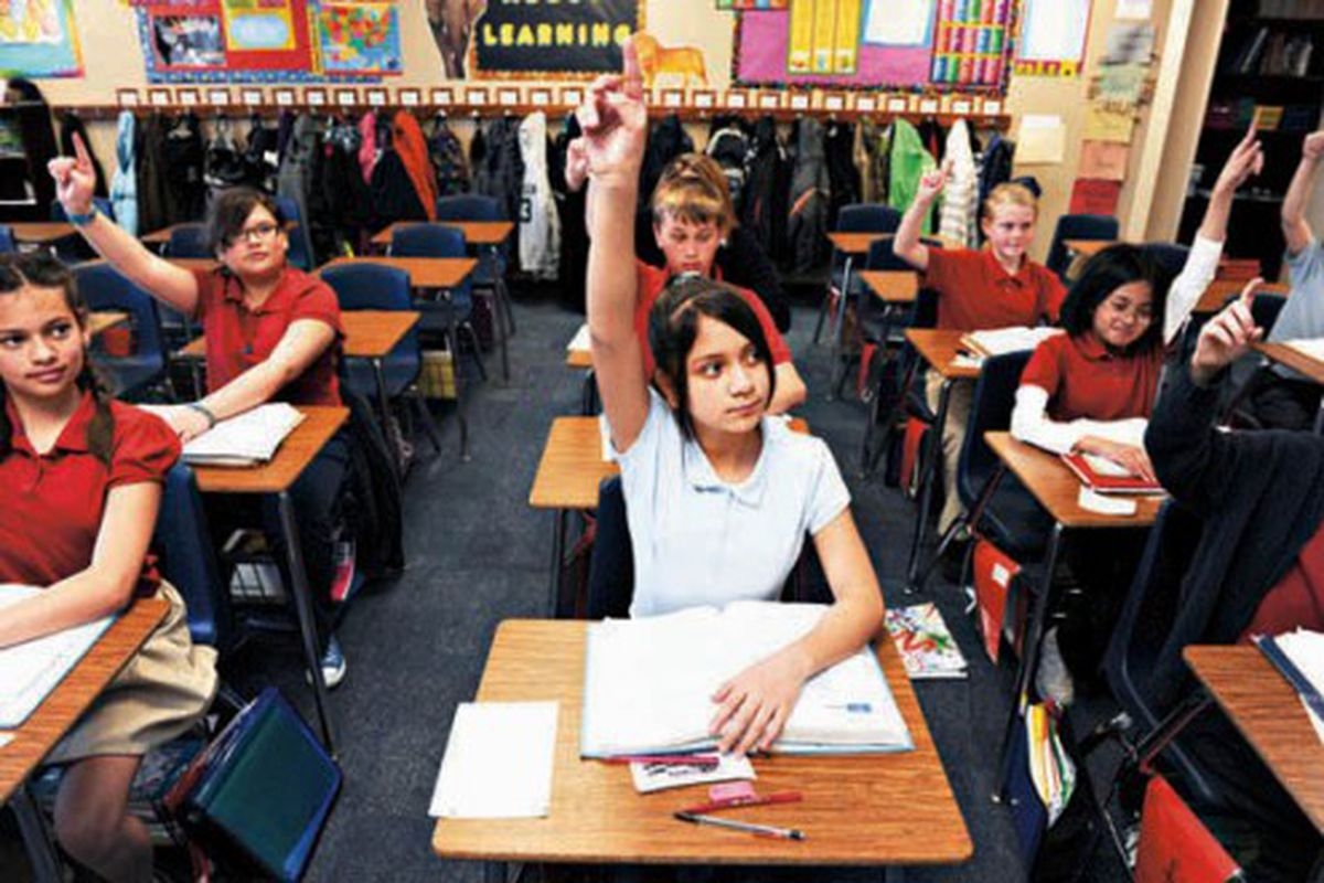 Students at James Irwin Charter Academy in Colorado Springs