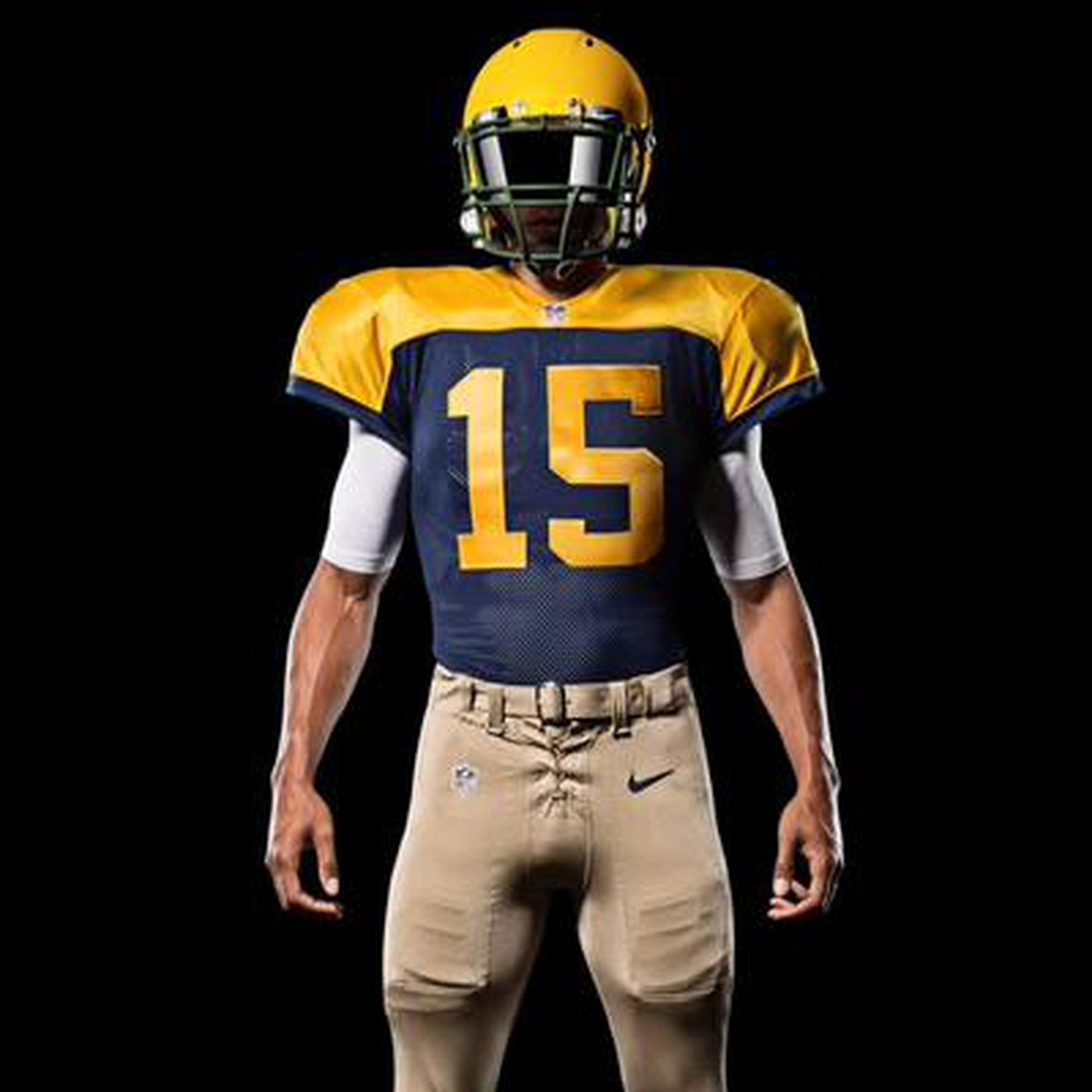 outlet store f895f 1ba34 Packers unveiled alternate uniforms that are throwbacks to ...