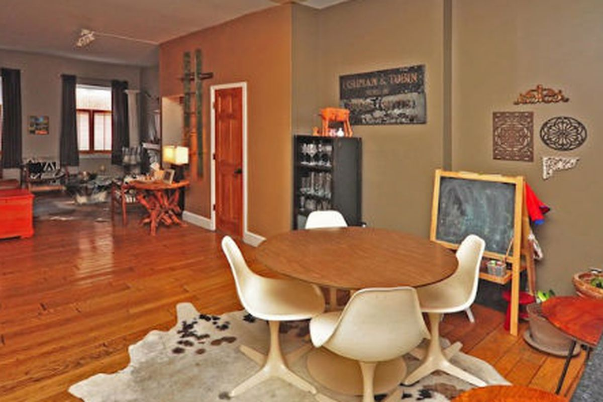 """Image credit: <a href=""""http://www.phillymag.com/realestate/for-sale/house-of-the-day-nolibs-home-featured-in-designsponge-and-nest-restored-by-uo-and-anthro-designers/"""">Property</a>"""