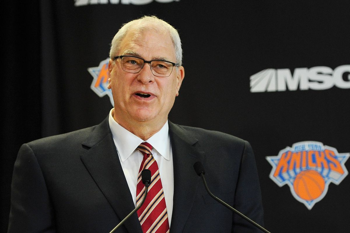 Phil Jackson's plan with the Knicks have confused us all.