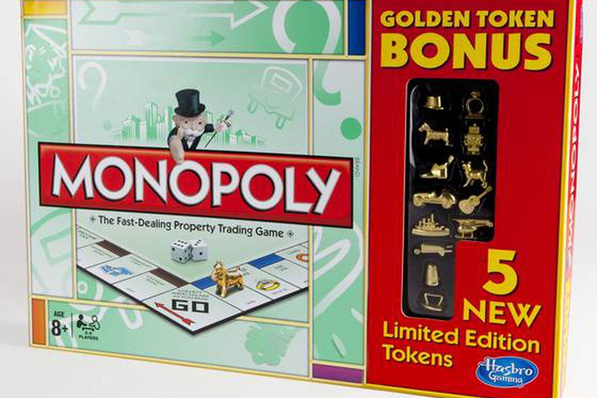 Monopoly Golden Token - HASBRO