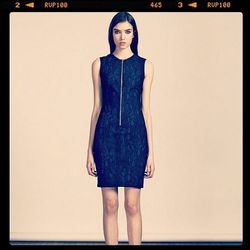 """<a href=http://instagram.com/yigalazrouel>@yigalazrouel</a>: """"Ready for Pre-Fall? Our snakeskin jacquard dress is available at our Madison Store now!!!! emoji #pf13 #gracehartzel"""""""