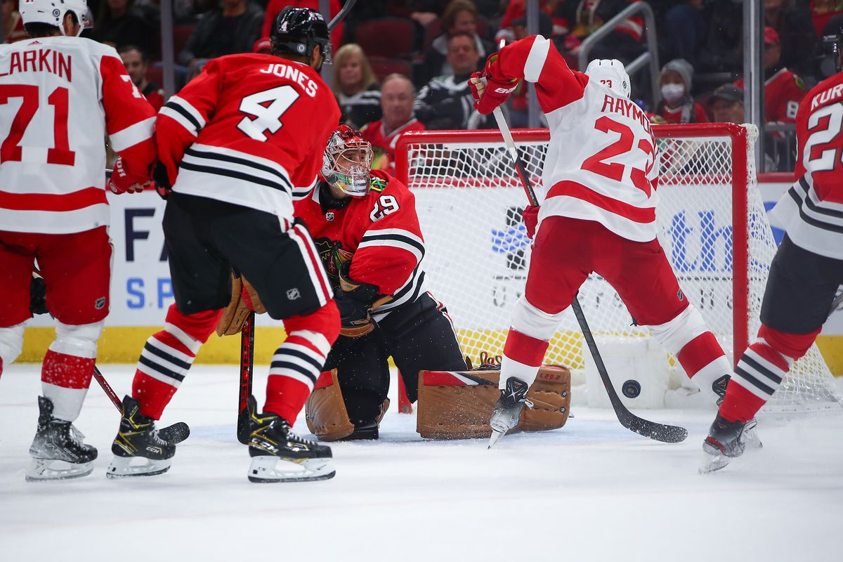 NHL: OCT 24 Red Wings at Blackhawks