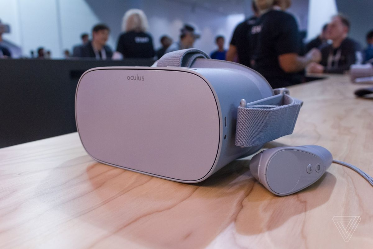 7f4079d7b07b First look at Oculus  199 self-contained Go VR headset - The Verge