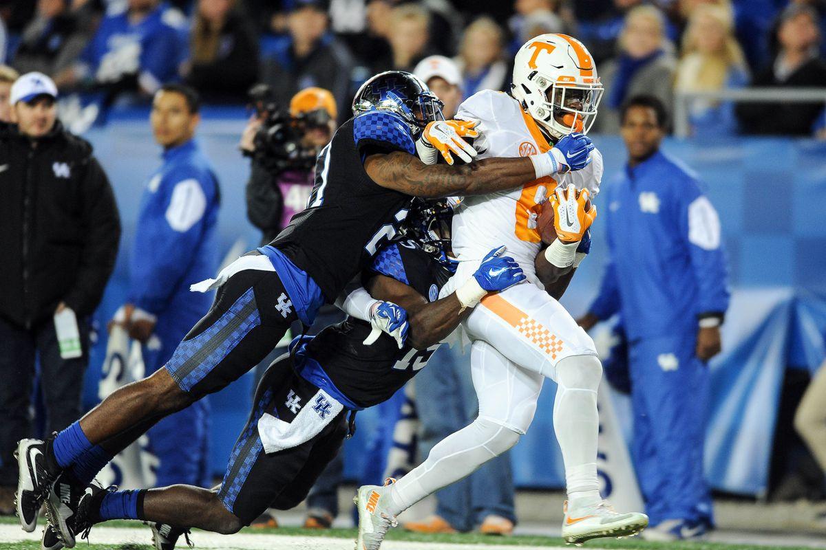 NCAA Football: Tennessee at Kentucky