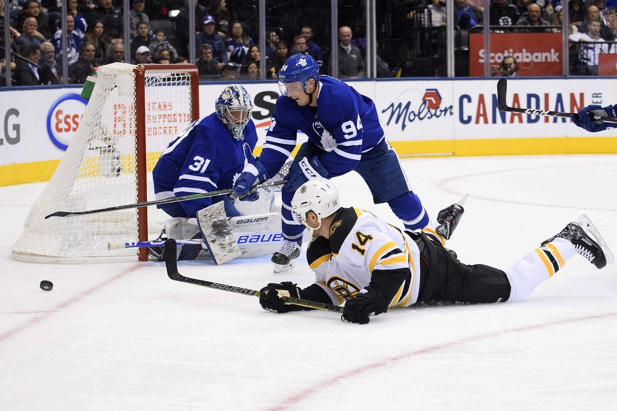 Bruins vs. Leafs RECAP: B's lose in overtime 4-3