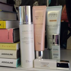"""I write a column for the website <a href=""""http://www.wisdominbeauty.com/"""">Wisdom in Beauty</a> called Beauty Sleuth where I test out new products—this month I'm testing BB and CC creams. I must confess that I'm a little mystified by the whole concept. Wha"""