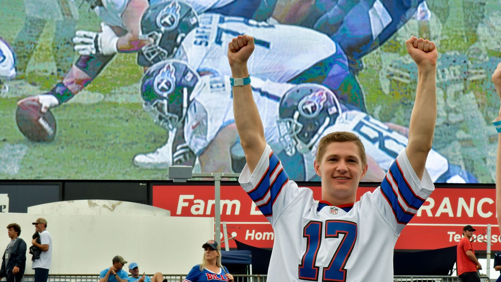 Bills fans reach new heights of confidence entering bye week