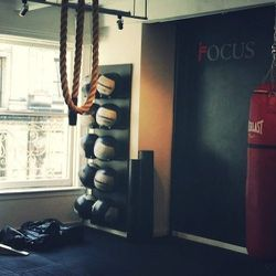 A huge part of my job is getting to know the fitness studios around the city so that we're always on top of news and trends. This week I'm taking a class at <b>Focus NYC</b>, a boutique gym in Chelsea with iPads on the walls showing you how to do exercise