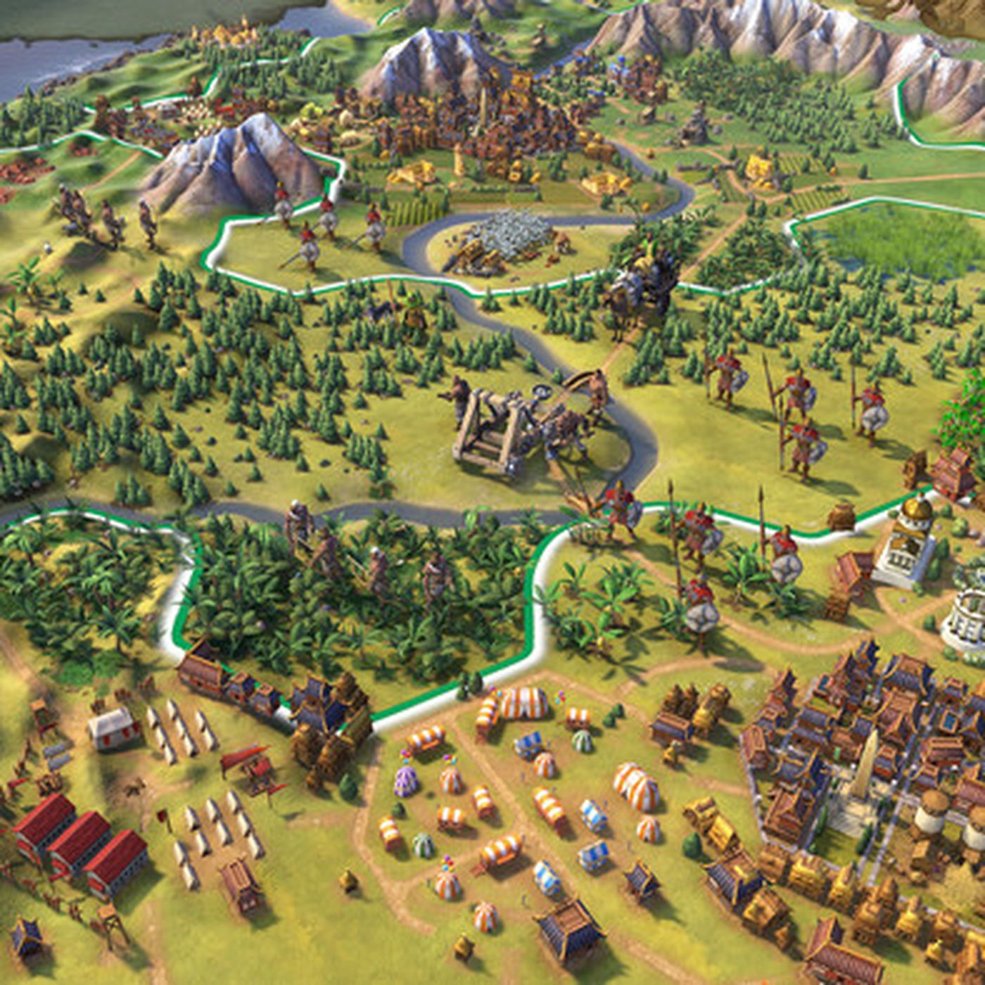 Civilization 6 on iPad is a marvel - Polygon