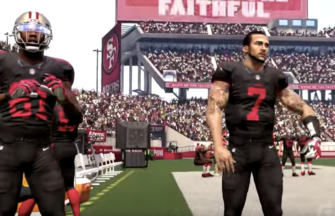 5314dc5299e Madden 16 video features 49ers black uniforms vs. Seahawks - Niners Nation