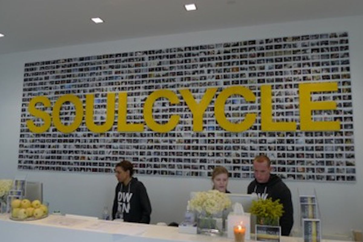 """Photo via <a href=""""http://tribecacitizen.com/2010/01/15/welcome-to-the-hood-soulcycle/"""">Tribeca Citizen</a>"""