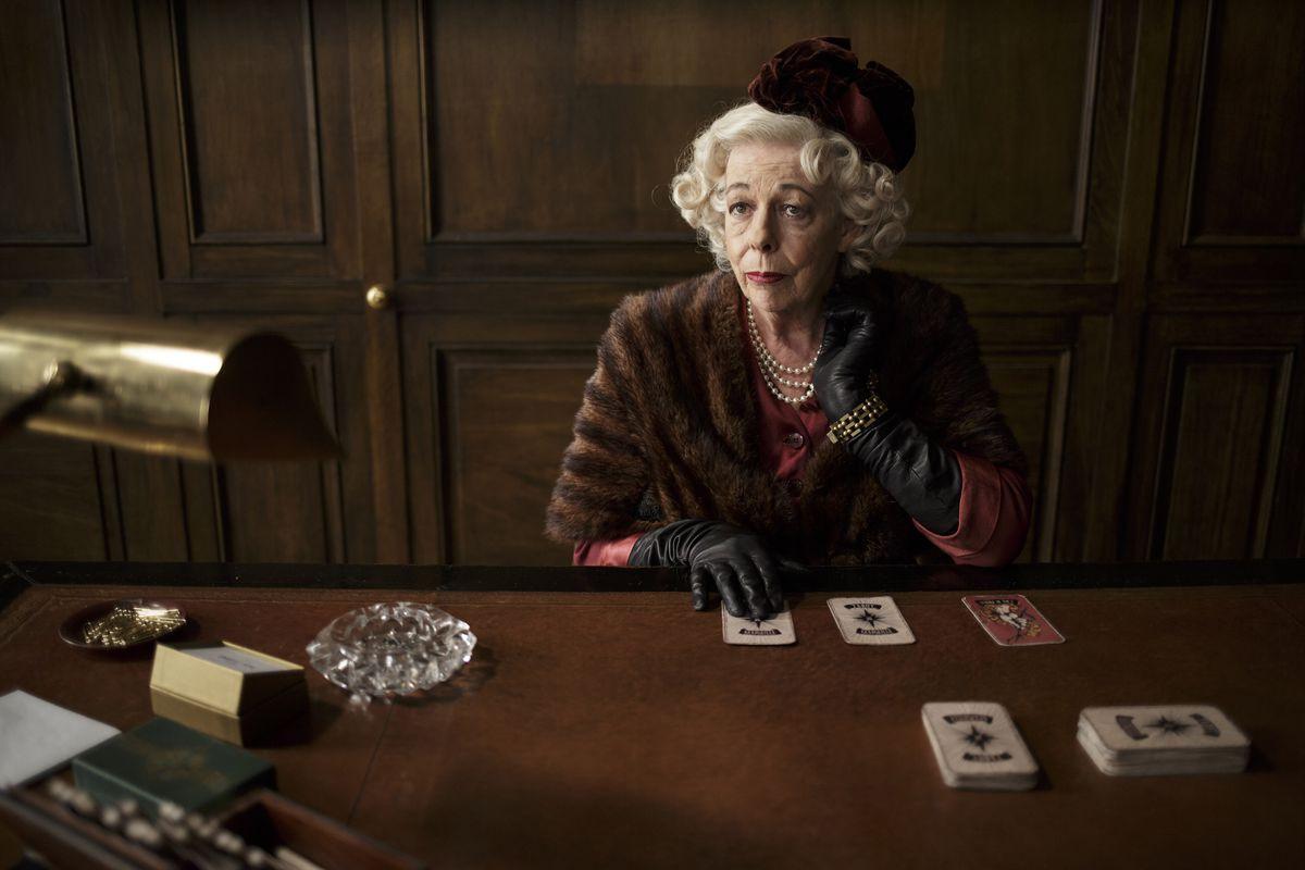 Frances de la Tour as Yvette Sabine on The Collection.