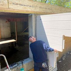 Bilco installation and Norwalk Cottages