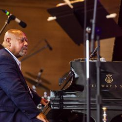 Kenny Barron Quintet performs at the Chicago Jazz Fest, Sept. 1, 2018.   Tyler LaRiviere/Sun-Times
