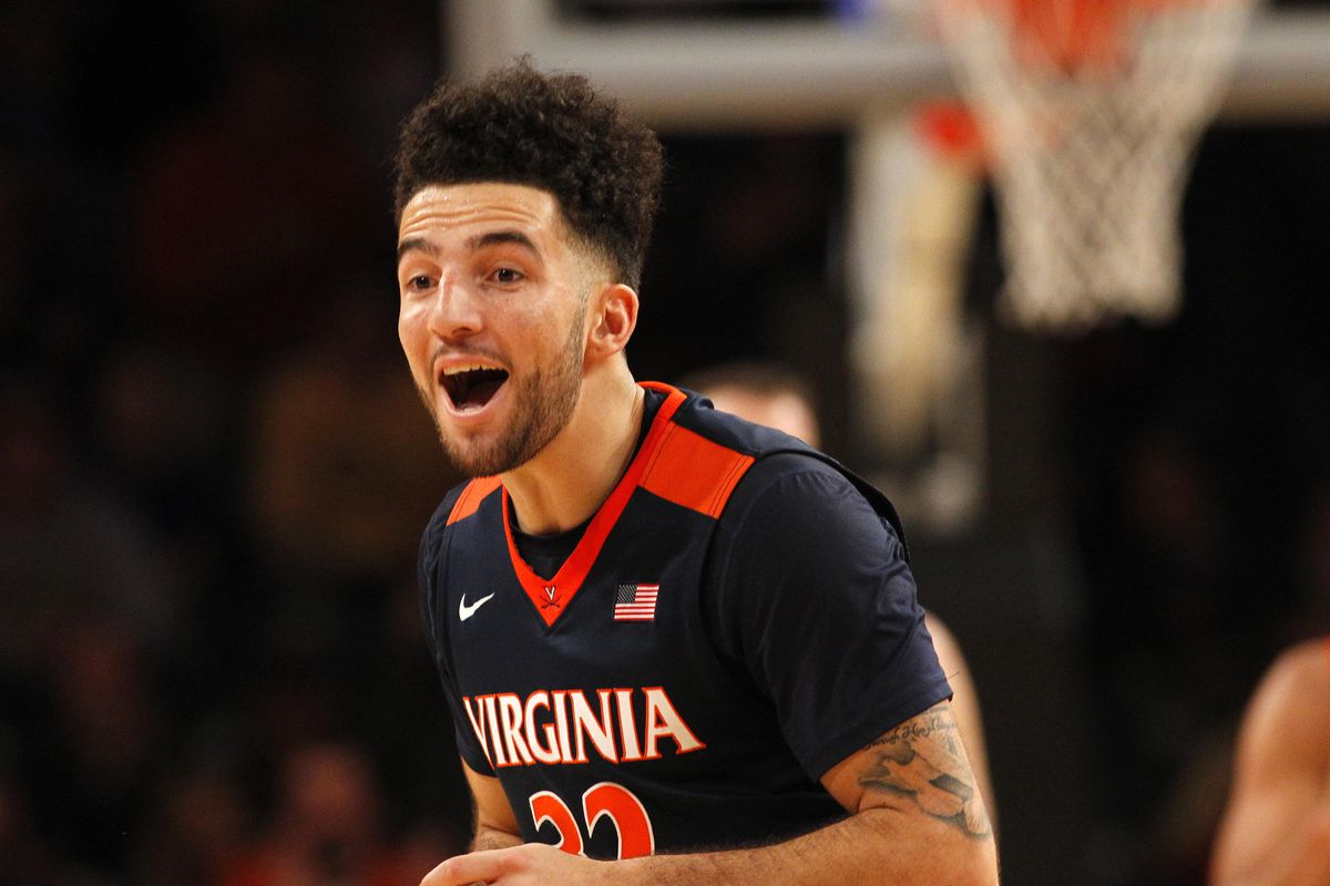 London Perrantes, upon learning that Virginia dropped 9 spots in the AP Poll