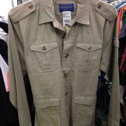 Pendleton Shirt Jacket $74