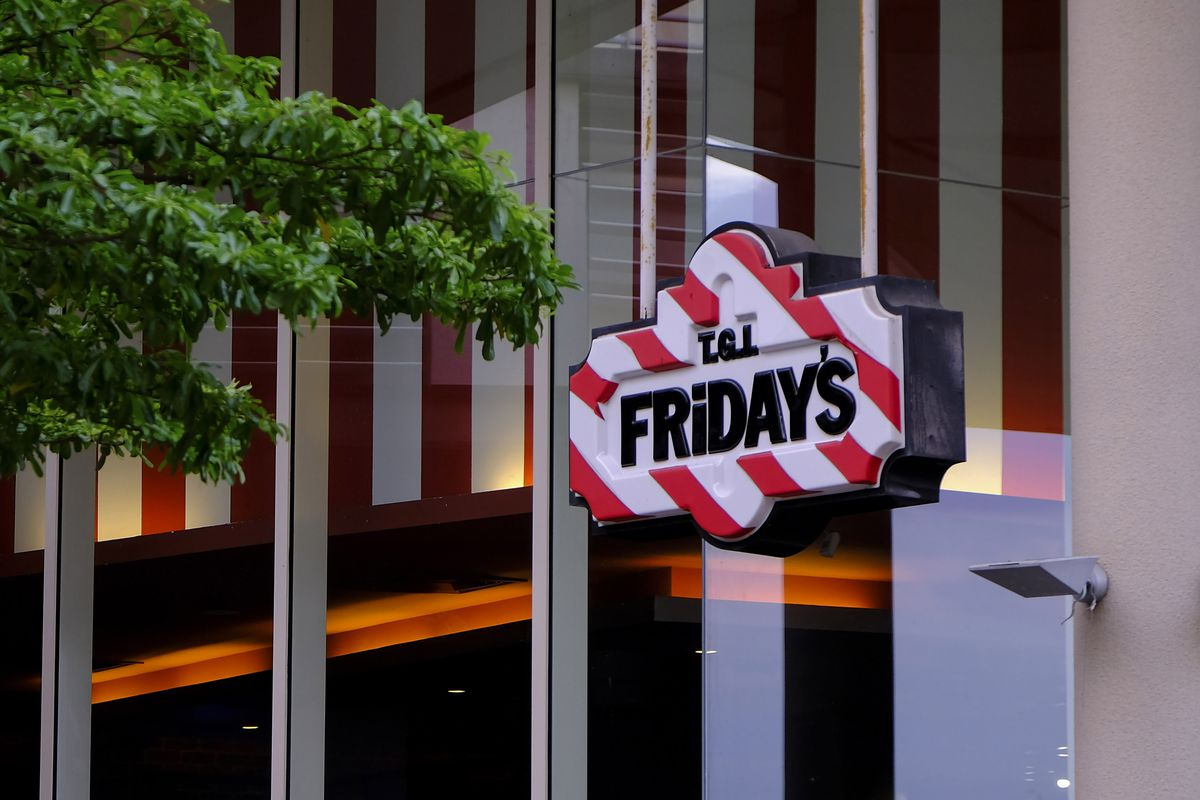 A commercial sign of T.G.I Fridays seen in Kuala Lumpur...