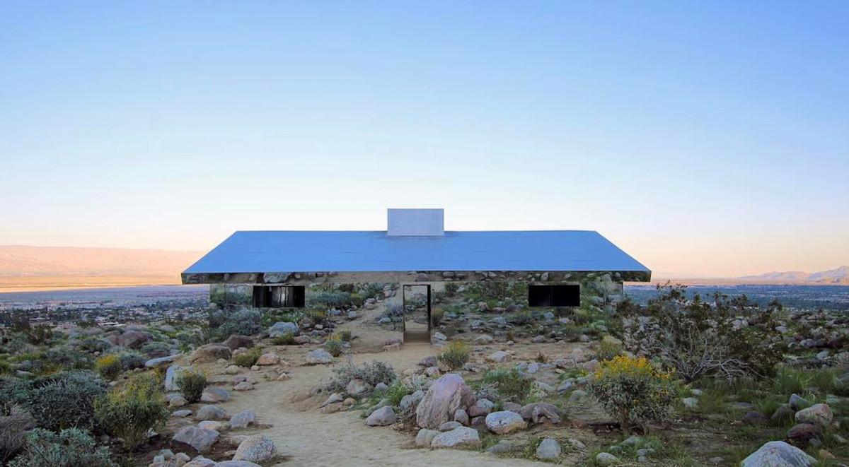 Doug Aitken's Mirage for Desert X