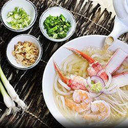 Hong Kong Cafe king seafood noodle soup