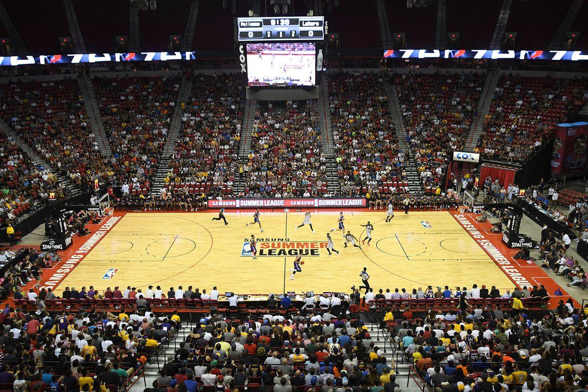 NBA: Summer League-New Orleans Pelicans vs Los Angeles Lakers