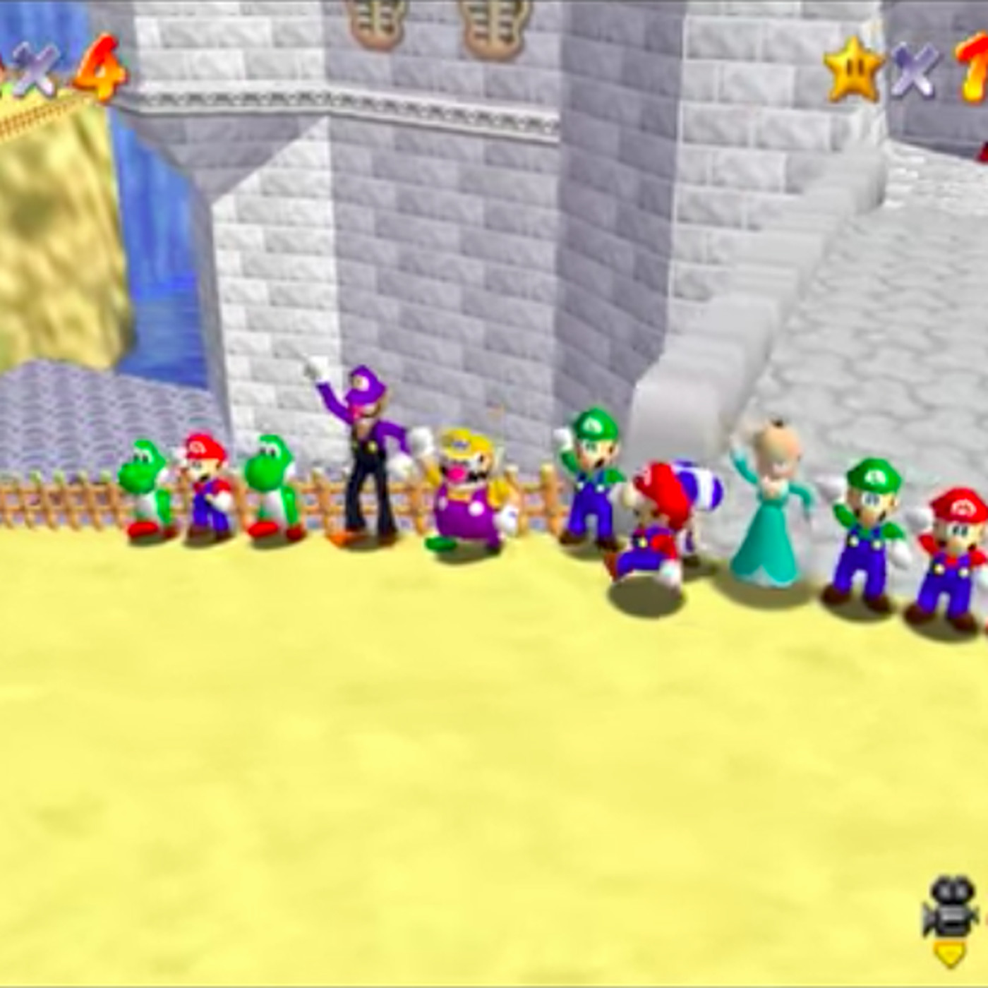 Super Mario 64 Online lets you play the classic with your
