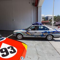 The 1990 BMW 535i by Matazo Kayama is swapped for the Calder car.