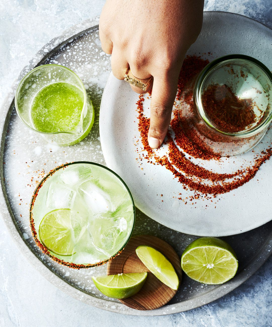 Spicy margs from Ayesha Curry cookbook