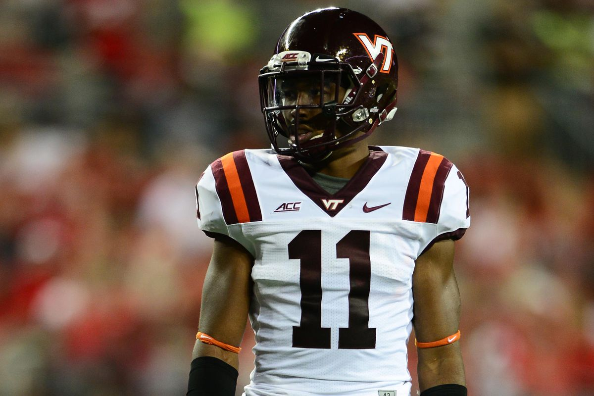 best sneakers b7eaf 0de0b Kendall Fuller And The N.F.L. Draft - Gobbler Country