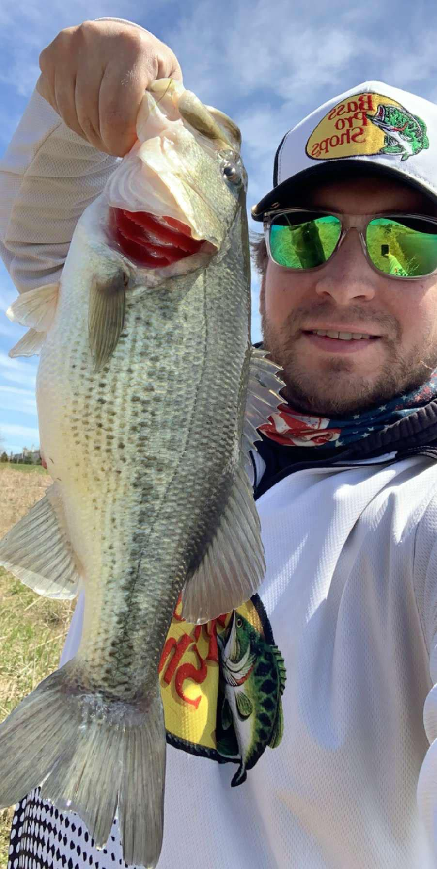 Mike Gruca with a good bass from Plainfield. Provided photo
