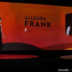 Allegra Frank (Associate Culture Editor, Vox.com)