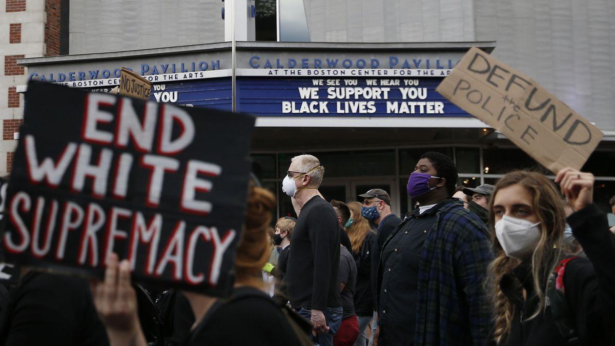 Protest in Boston