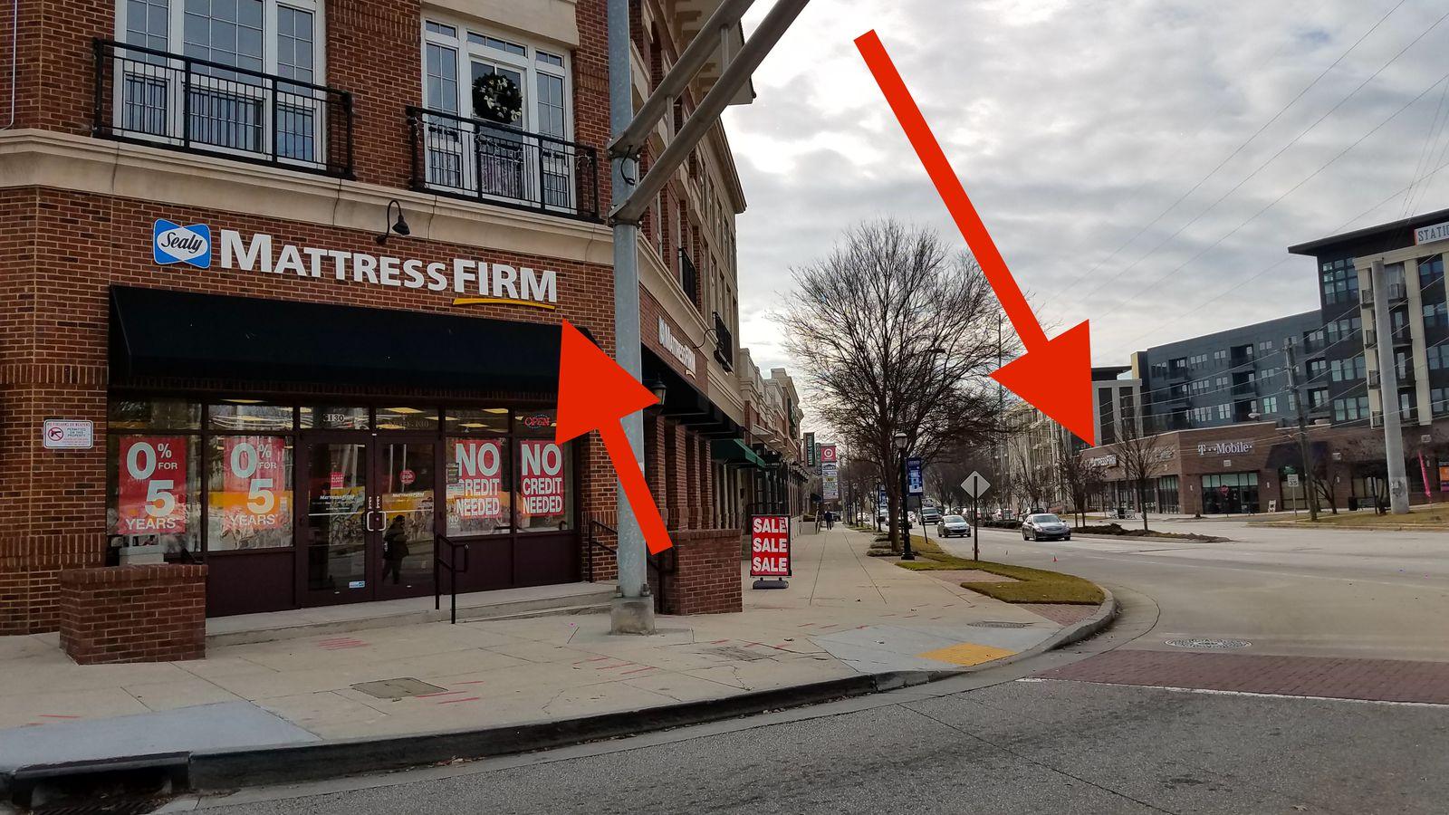 Atlanta S Double Dose Of Mattress Firms On Same Street An