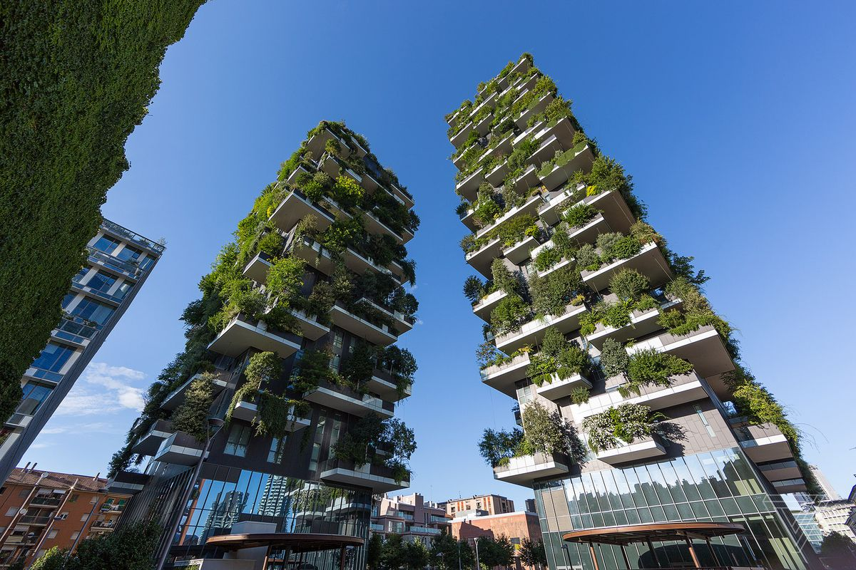 High Rise Forests In Italy Are Fighting Air Pollution