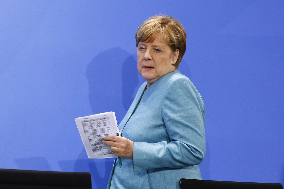 Merkel: Hamburg G20 to focus on Paris climate deal