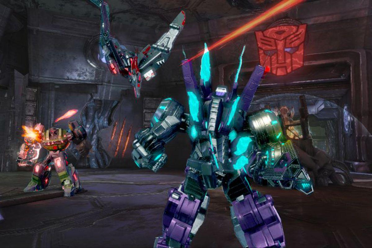 Gallery Photo: 'Transformers: Fall of Cybertron' 'Dinobot Destructor Pack' screenshots