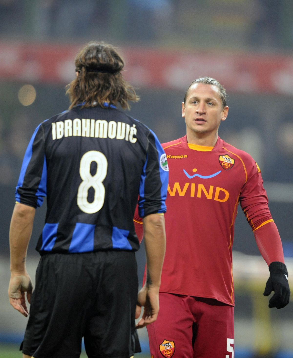 AS Roma's French defender Philippe Mexes