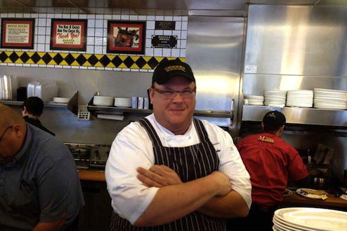 Shepherd at Waffle House