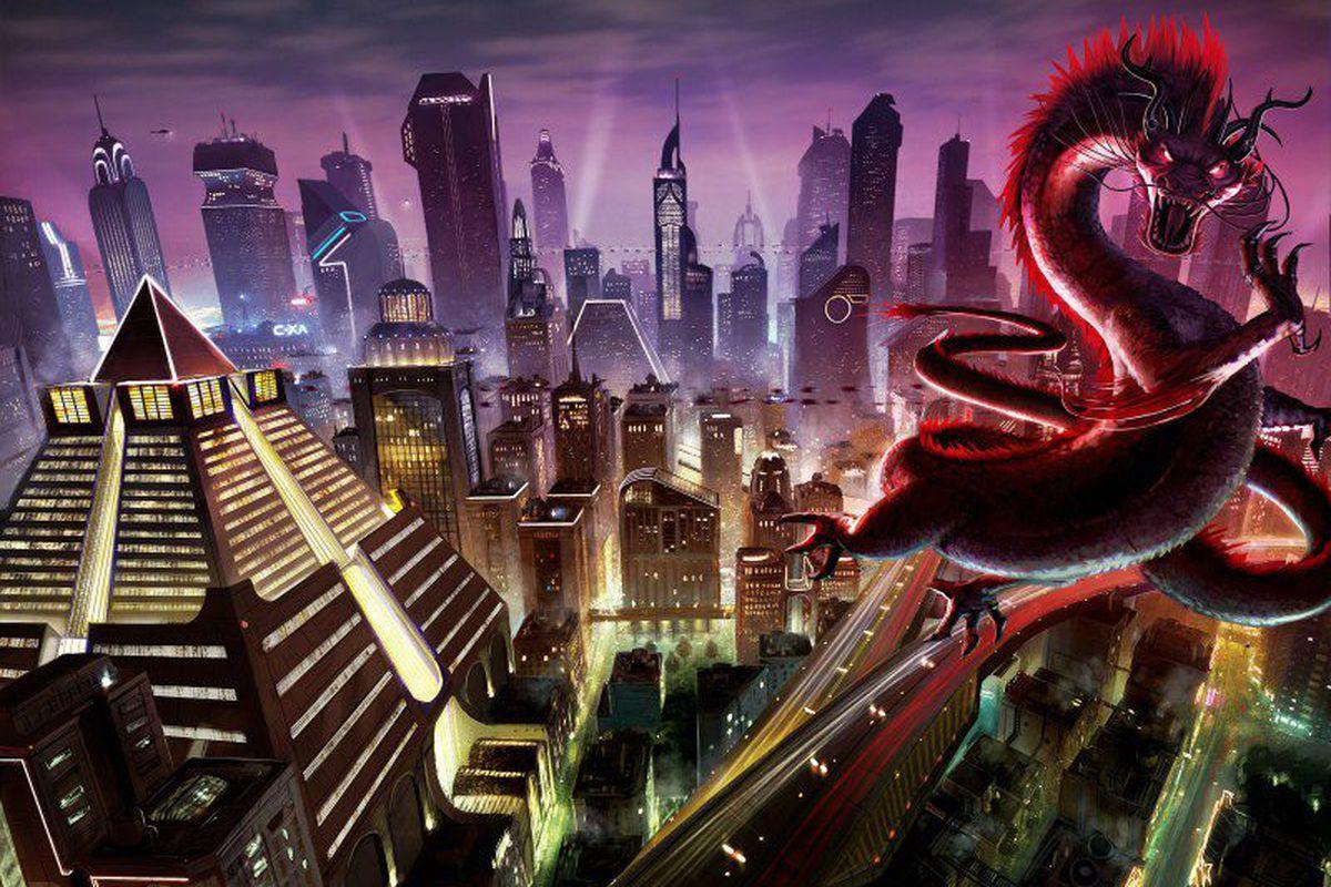 Shadowrun Online concept art