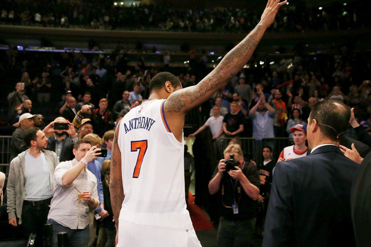 0e725ad3e Carmelo Anthony s Knicks legacy deserved a better ending - SBNation.com