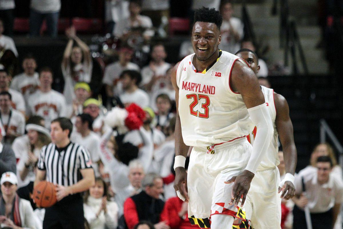 Maryland basketball Bruno Fernando vs. Ohio State
