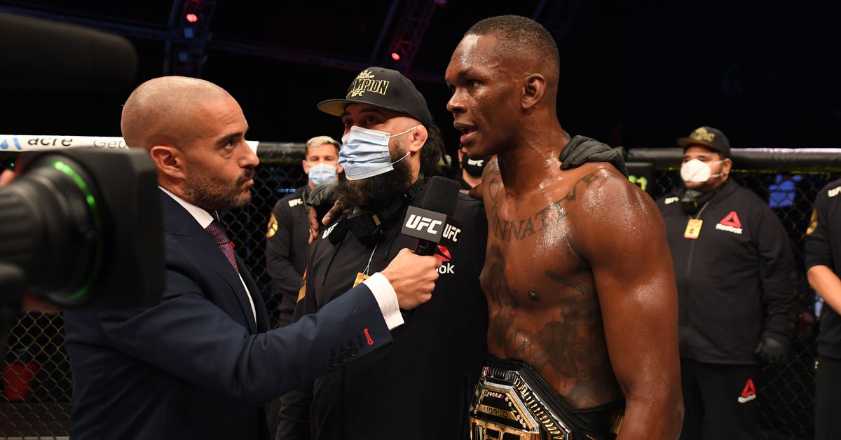 Jon Anik: Israel Adesanya has 'a lot of value' as UFC 259 betting favorite