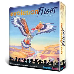 The upcoming expansion for Evolution is called Flight and features new trait cards that will affect the game in new ways.