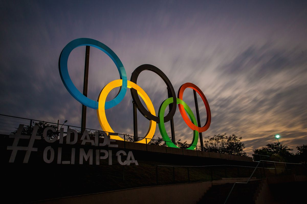 View of the Olympic rings placed at Madureira Park, on July 19, 2016, in Rio de Janeiro, Brazil. There's been lots of talk about Zika —but not enough about the flu.