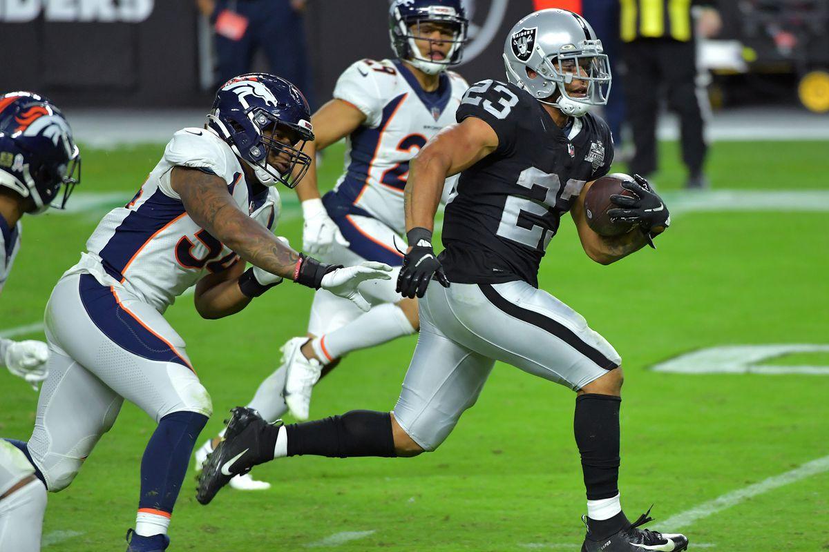 NFL: Denver Broncos at Las Vegas Raiders
