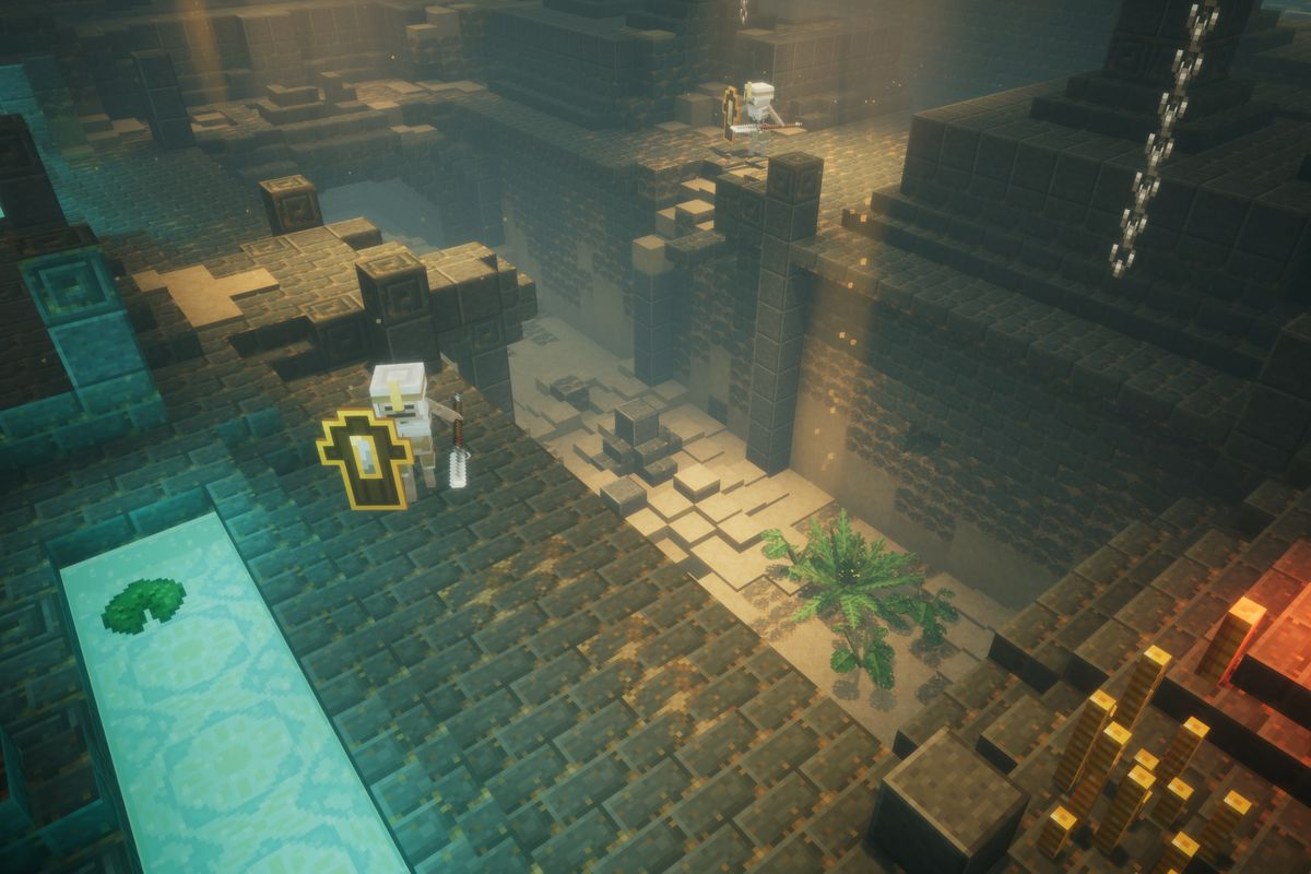 Mojang announces Minecraft: Dungeons - Polygon