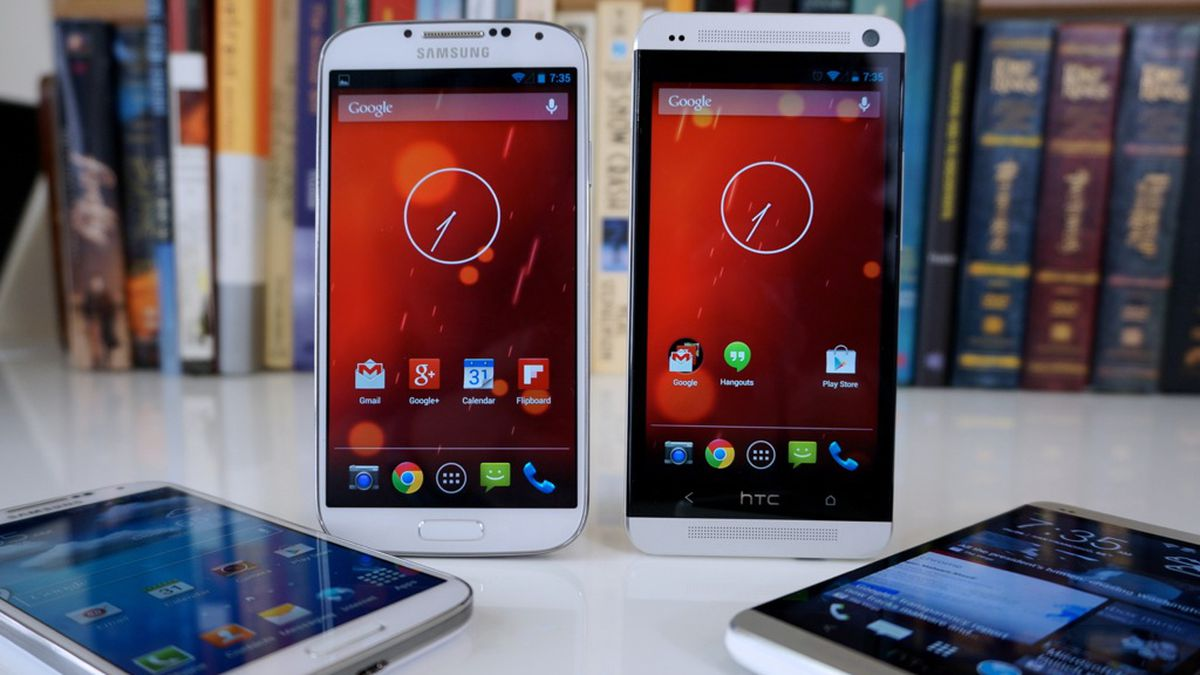 Pure Android: Samsung Galaxy S4 and HTC One 'Google Play
