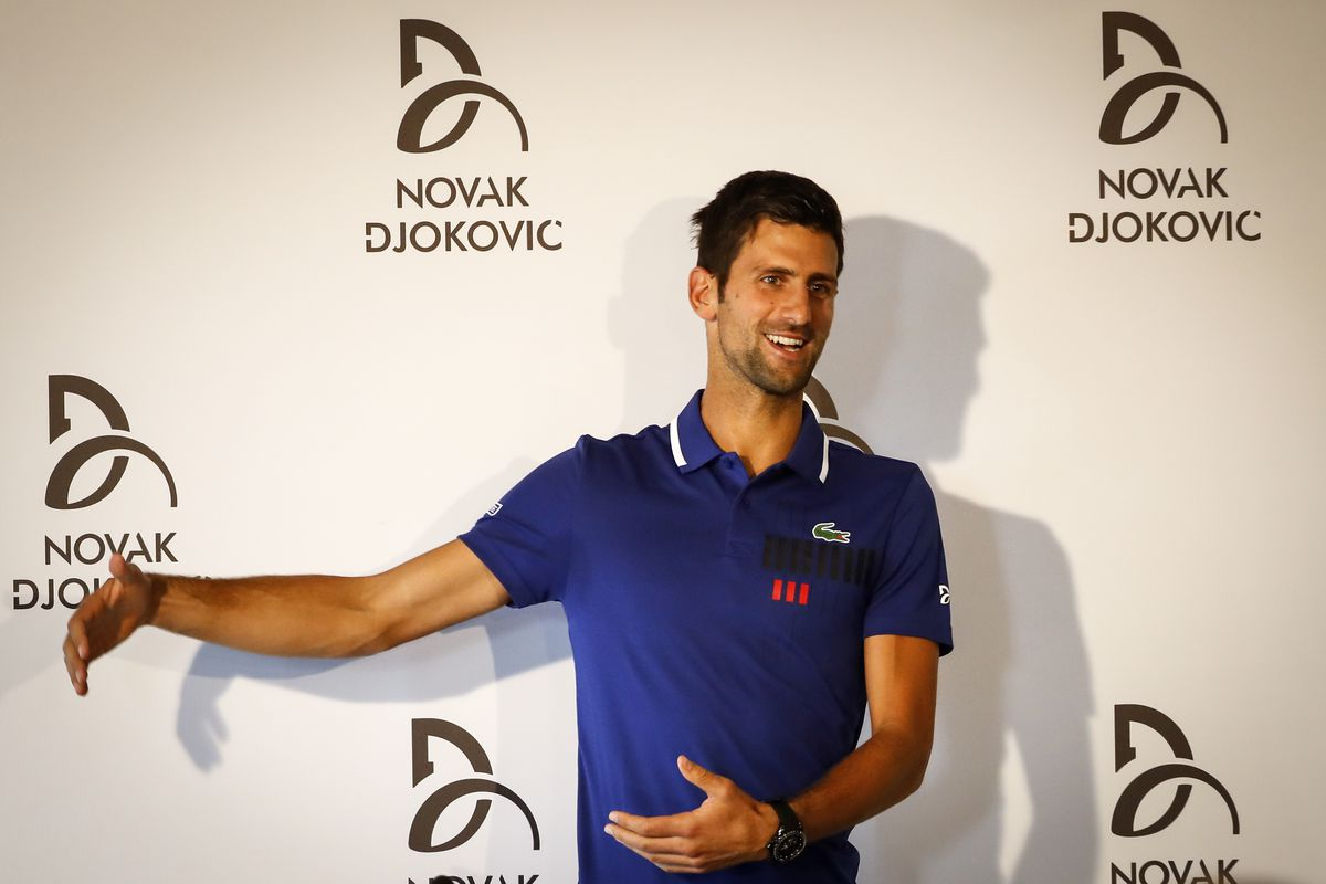 Novak Djokovic will sit out the remainder of tennis season due to