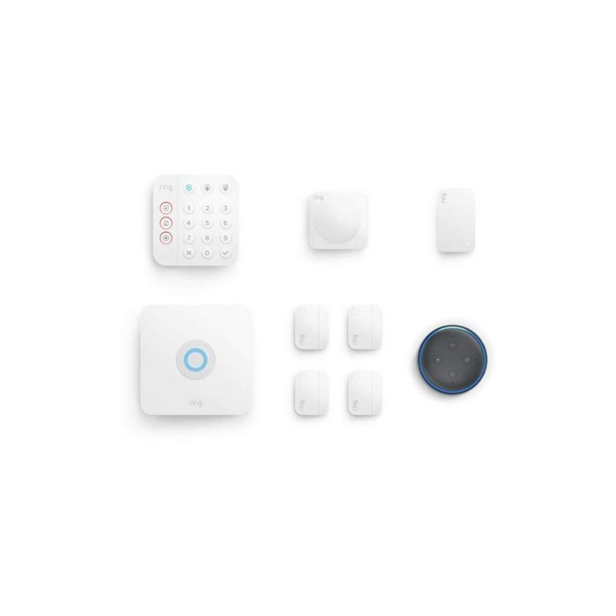 eight piece ring alarm kit