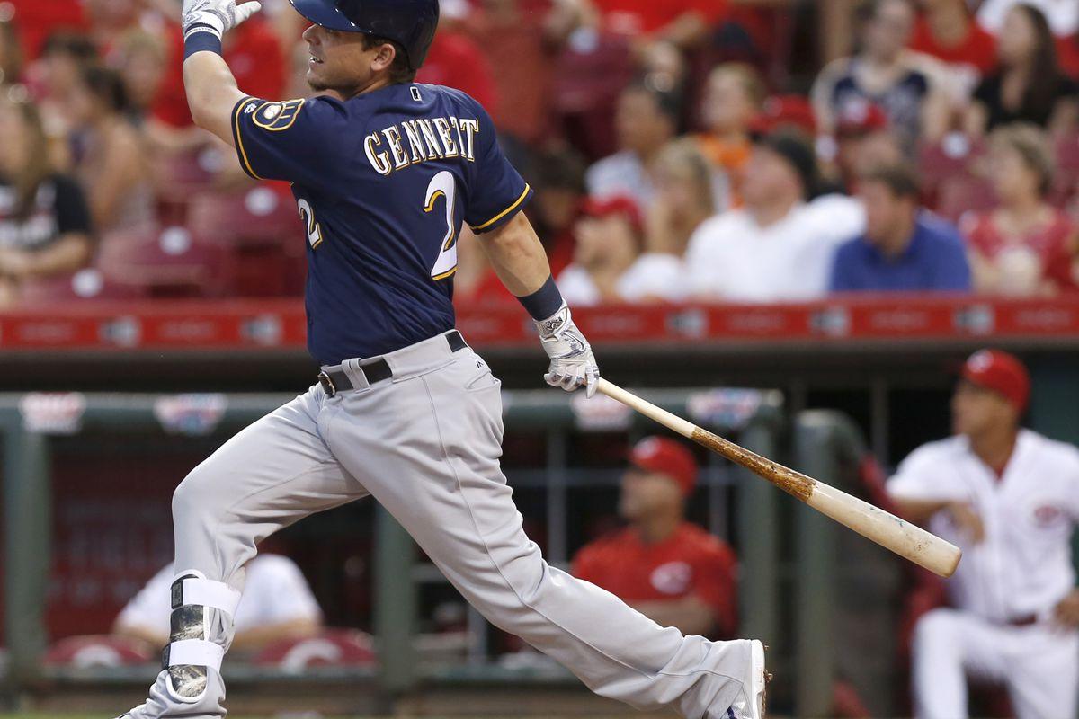 MLB: Milwaukee Brewers at Cincinnati Reds